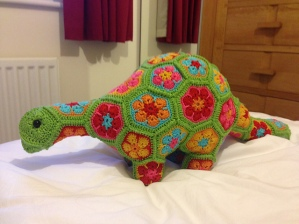 Puff (Dippy) the Magic Stegosaurus (Diplodocus) by HeideBears