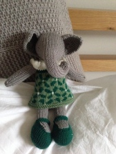 Girl Elephant by Little Cotton Rabbits